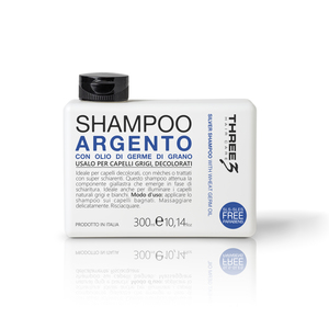 Three 3 Shampoo Argento 300 ml