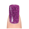 45 purple glitter