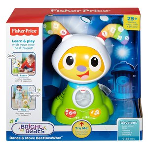 Fisher Price Infant FBC97 Robottino Balla e Va, Cane del Robottino
