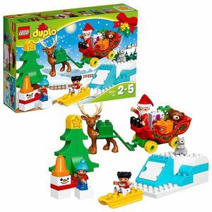 Lego Duplo Le Avventure di Babbo Natale, 10837