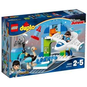 LEGO Duplo 10826 - Miles Dal Futuro, Giocattolo L'Hanger Stellare di Miles