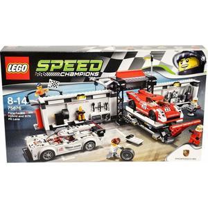 Lego Speed Champions – 75876 – Porsche 919 Hybrid E 917K Pit Lane