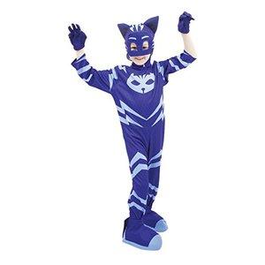 PJ Masks Costume Carnevale Gattoboy, Taglia 4/5 Anni