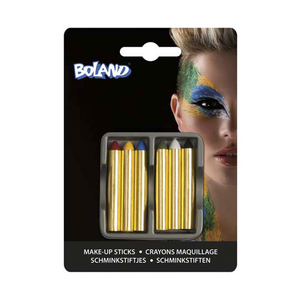 BOLAND Set 6 matite trucco colorate