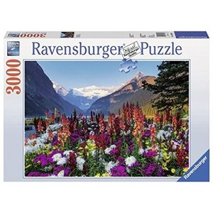 Ravensburger 17061 - Flowery Mountains, Puzzle 3000 Pezzi