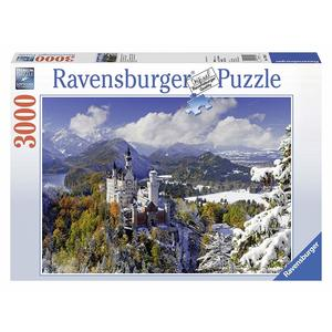 Ravensburger, puzzle 3000pz,  Castello Neuschwanstein,17062