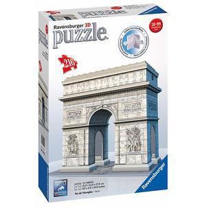 Ravensburger Puzzle 3D Arco di Trionfo, 12514