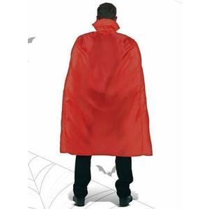 mantello rosso con colletto