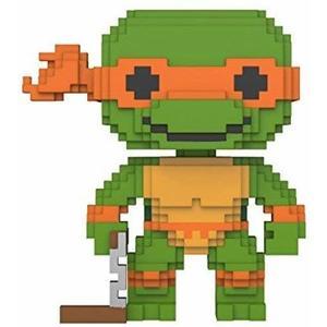 Funko Pop -8-Bit - Turles - Michelangelo - 07