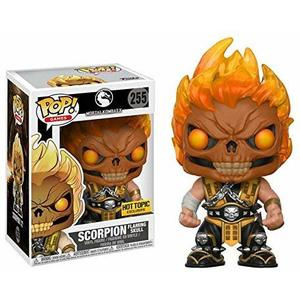 Funko Pop - Games - Mortal Kombat X - Scorpion - 255