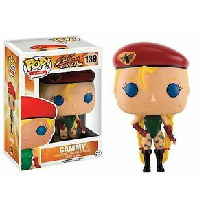 Funko Pop - Games - Street Fighter - Cammy - 139