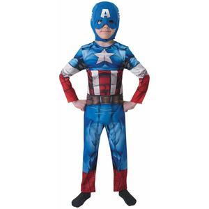 Rubie's - Captain America - Costume e Maschera