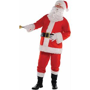 amscan - Costume Babbo Natale Tg. S/M