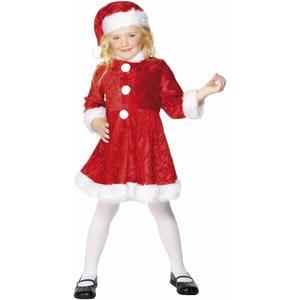 Smiffy's - costume miss natale - 10/12 anni