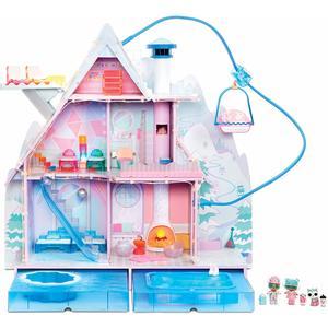 L.O.L. Surprise! Casa delle Bambole Winter Disco Chalet con 95 sorprese