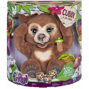 Hasbro FurReal- Cubby Il Mio Orsetto Curioso Peluche Interattivo