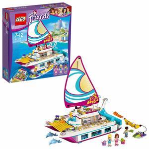 LEGO- Friends Il Catamarano, Multicolore, 41317