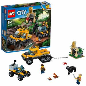 LEGO City - Missione nella Giungla con Il Semicingolato 60159
