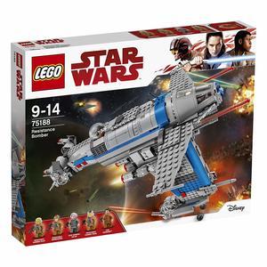 LEGO Star Wars 75188 - Bombardiere della Resistenza