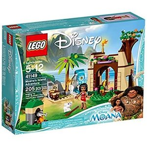 LEGO 41149 - Princess Oceania - l'Avventura sull'Isola di Vaiana