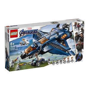 LEGO 76126 - Avengers - L'Ultimate Quinjet degli Avengers