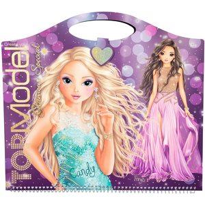 TOP Model - Album da Colorare - Special Glamour