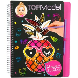 TOP MODEL 10024 – Libro da colorare Magic Scratch Book