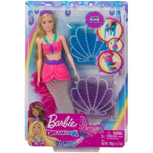 Barbie- Dreamtopia Bambola Sirena con Slime