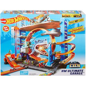 Hot Wheels – mega garage