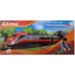 Lima - Treno a Batteria ETR 500 Frecciarossa Completo di Tunnel Stazione e Binari Scala 1:87