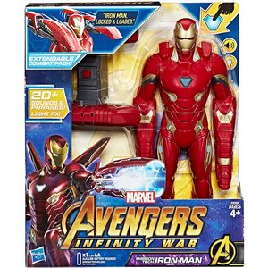 Avengers: Infinity War - Iron Man Mission Tech Titan Hero con Accessorio