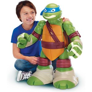 Giochi Preziosi - Playset Gigante - Turtles Leonardo