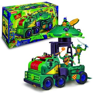 Giochi Preziosi - Turtles - Carro Armato con Accessori