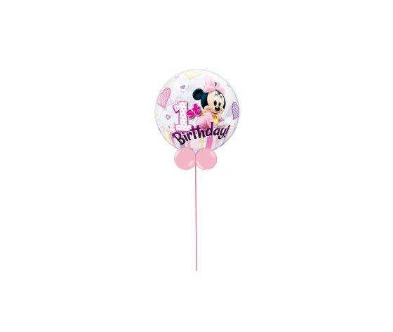 Bubble 1st Minnie's Birthday