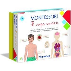 Clementoni 16103 -Montessori - Il Corpo Umano