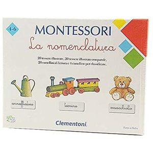 Clementoni 16101 - MONTESSORI - LA NOMENCLATURA