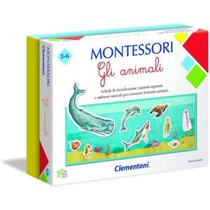 Clementoni 16100 - Montessori - Gli Animali