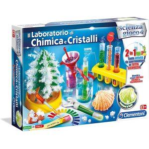 Clementoni 13968 - Scienza e Gioco, Il Laboratorio di Chimica e Cristalli