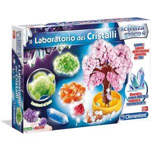 Clementoni 13195 - Scienza e Gioco - Il Laboratorio Dei Cristalli