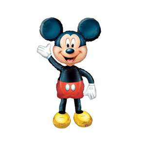 """Palloncino 52"""" Air Walker mylar Mickey Mouse"""