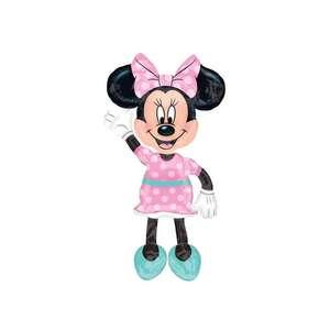 "Palloncino 52"" Air Walker mylar Minnie"