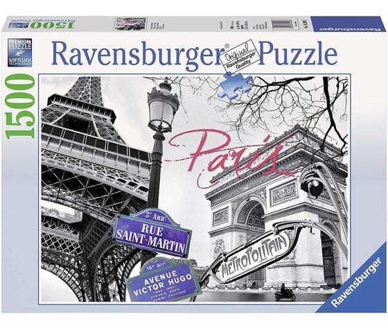 Ravensburger 16296 - A Parigi, Puzzle 1500 Pezzi