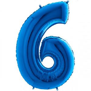 NUMERO 6 BLU