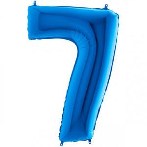 NUMERO 7 BLU