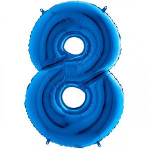 NUMERO 8 BLU