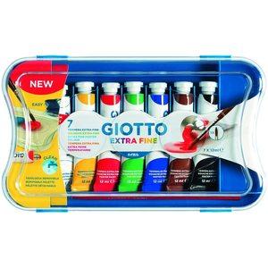 Giotto - 7 Tubetti Tempera 12ml