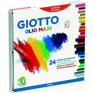Giotto - pastelli ad olio - 24 colori