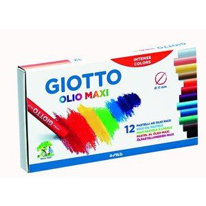 Giotto - pastelli ad olio - 12 colori