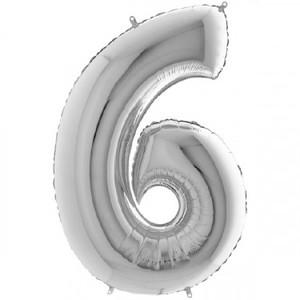 NUMERO 6 ARGENTO