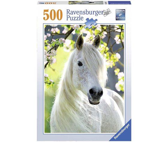 Ravensburger 14726 - Puzzle 500 pezzi - Primavera Equestre